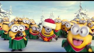 getlinkyoutube.com-LOS MINIONS os desean Felices Fiestas