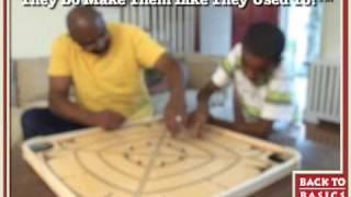 back to basics toys: carrom game board
