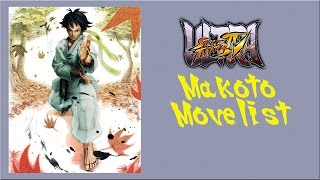 getlinkyoutube.com-Ultra Street Fighter IV - Makoto Move List