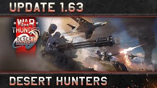 War Thunder - 1.63-as Frissítés: Desert Hunters
