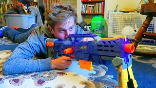 getlinkyoutube.com-Testing Awesome Nerf Guns!