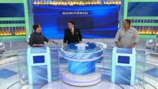 Programa Silvio Santos (13/10/13) - Geraldo Magela e Pedro Manso participam do