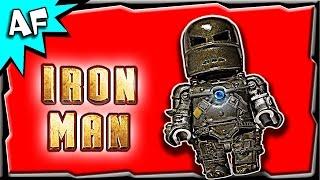 getlinkyoutube.com-Custom Lego Iron Man MARK 1 Minifigure Review