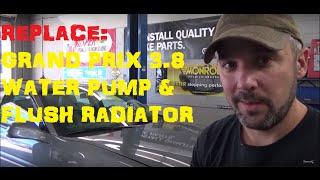getlinkyoutube.com-Pontiac Grand Prix 3.8 - Water Pump Replacement