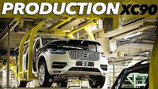 getlinkyoutube.com-ALL-NEW Volvo XC90 | Pre-production in Torslanda