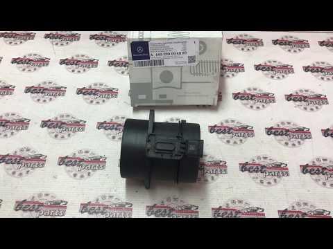 A645090004880 Расходомер воздуха Mercedes GLA X156 / ML/GLE W166 / E W212 / CLS C218 / S W222