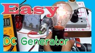 getlinkyoutube.com-Easy Energy dc generator to 100v【Testing】  เครื่องปั่นไฟอย่างง่าย ได้ถึง จากมอเตอร์ 24 volt 【ทดลอง】