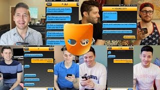 GAY GUYS REACT TO WEIRD GRINDR MESSAGES