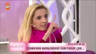 """getlinkyoutube.com-Esra Erol Gelin Adayı  Zehra """" Yusuf Çim gibi biri olsun """""""