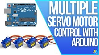 getlinkyoutube.com-Arduino Tutorial 17: Multiple Servo Control with Arduino