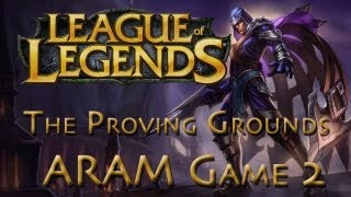 getlinkyoutube.com-LoL Game 2 - ARAM - Talon - The Proving Grounds