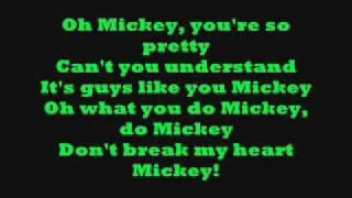 getlinkyoutube.com-Hey Mickey! with lyrics