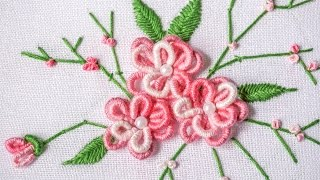 getlinkyoutube.com-DIY Projects |  Hand Embroidery Design | HandiWorks #90