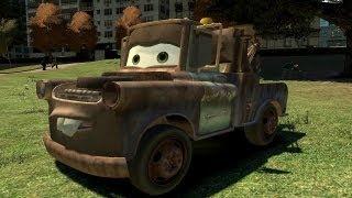 getlinkyoutube.com-Grand Theft Auto IV - Cars Mater (MOD) HD