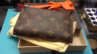getlinkyoutube.com-Louis Vuitton | Adele Compact Wallet Review