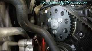 getlinkyoutube.com-How to replace timing belt (cambelt) and water pump on VW Sharan/Seat Alhambra 2.0tdi