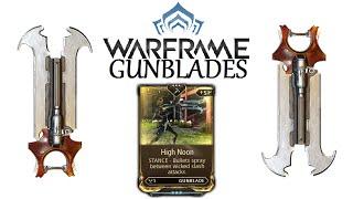 Warframe Stances - High Noon (Gunblade)