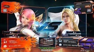 getlinkyoutube.com-TEKKEN 7 Fr 8/1 Chanel(Alisa) vs Naengmyun Sungin(Nina) (철권7 Fr 샤넬 vs 냉면성인)