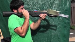 getlinkyoutube.com-Shooting the 100 Pound PVC Crossbow