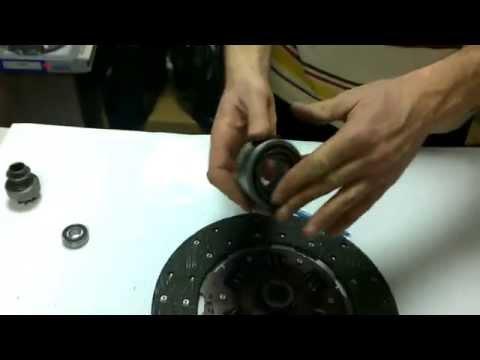 Устройство сцепления: диск сцепления, корзина сцепления
