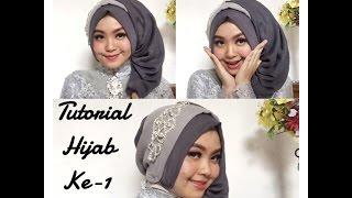 getlinkyoutube.com-#4 Tutorial Hijab Segi Empat Paris Rawis Wisuda Pesta Kondangan Simple by @olinyolina part I