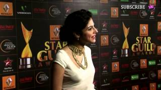 getlinkyoutube.com-Video | Divya Khosla Kumar | Star Guild Awards Red Carpet 2013