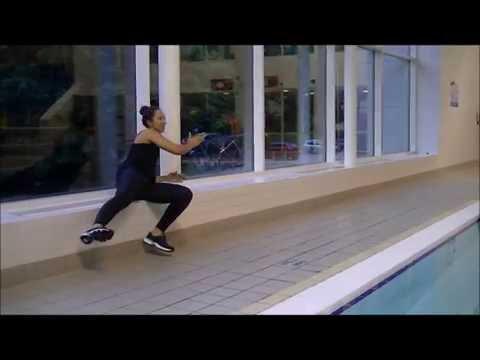 Deep Aqua Aerobics - Kick Variations