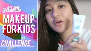 Salshabilla #BEAUTY - MAKE UP FOR KIDS #CHALLENGE