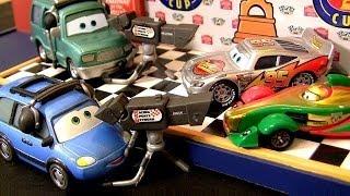 getlinkyoutube.com-Disney Cars Metallic Rip Clutchgoneski Mattel NEW Nelson Blindspot 2014 Chuck Choke Cables Pixar