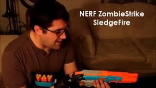 getlinkyoutube.com-NERF SledgeFire Reloading Trick