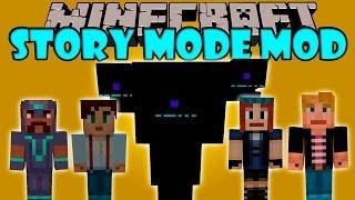 getlinkyoutube.com-MINECRAFT STORY MODE MOD - Wither gigante, Jesse, Petra y mas! - Minecraft mod 1.8 Review ESPAÑOL