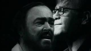 getlinkyoutube.com-Elton John & Luciano Pavarotti | Live Like Horses - Directed by Peter Demetris