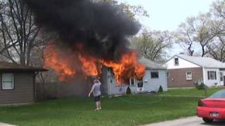 getlinkyoutube.com-Fire Consumes A House And Multiple Pets In New Chicago