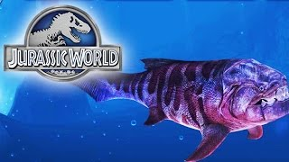 getlinkyoutube.com-Jurassic World The Game - Dunkleosteus Level 40 - Maxed Out!
