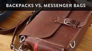 getlinkyoutube.com-Backpacks vs Messenger Bags for Men - Choosing the Best Bag for You