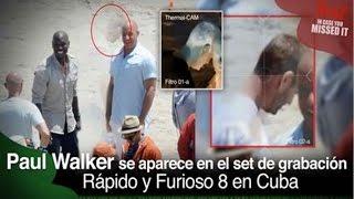 getlinkyoutube.com-Fantasma de Paúl Walker aparece en el set de grabación RÁPIDO Y FURIOSO 8