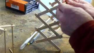 getlinkyoutube.com-Making a scissor lift