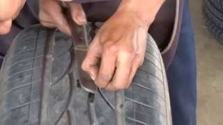 getlinkyoutube.com-การปะยางรถยนต์ The tire cover
