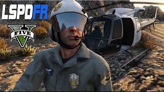 GTA V - LSPDFR #15 : Patrulha aérea