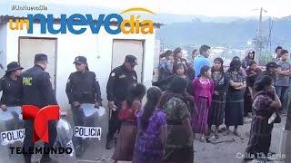 Linchan y queman a un alcalde de Guatemala | Un Nuevo Día | Telemundo