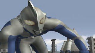 getlinkyoutube.com-Ultraman FE3 Story 10 - ULTRAMAN JUSTICE VS ULTRAMAN COSMOS S-RANK ★Play ウルトラマン FE3