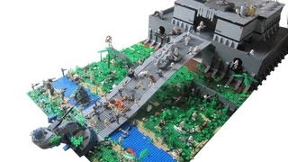 getlinkyoutube.com-LEGO Star Wars The Clone Wars Clone Base on Kashyyyk (2.0) MOC