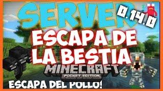 getlinkyoutube.com-Server De Escapa De La Bestia Para Minecraft PE 0.16.0 - Servers Para Minecraft PE 0.16.0