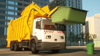 getlinkyoutube.com-George the Garbage Truck - Real City Heroes (RCH) - Videos For Children