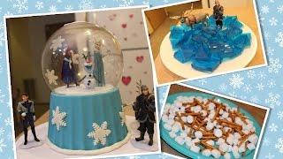 getlinkyoutube.com-Bolo Frozen + Doces de festa -- Sugestão 2