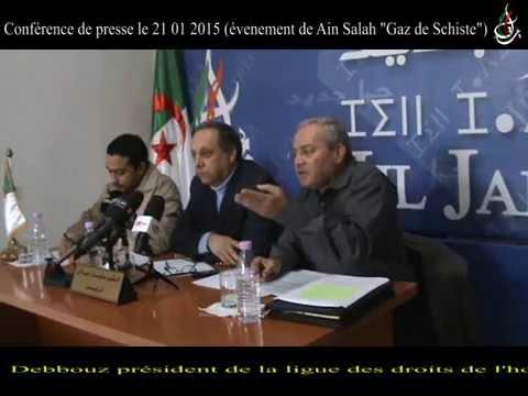 Gaz de Schiste Ain Salah ( Soufane Djilali , Mahdi Bsikri , Hacene Debbouz )