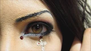 getlinkyoutube.com-「Phantasmagoria」KISAKIメイク方法(化粧)Kisaki Makeup Tutorial