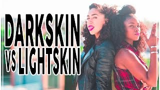 getlinkyoutube.com-Darkskin vs Lightskin: A Candid Convo Pt I
