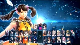 getlinkyoutube.com-Tekken 1 to 7 All Character Select Screen (1994 - 2017)