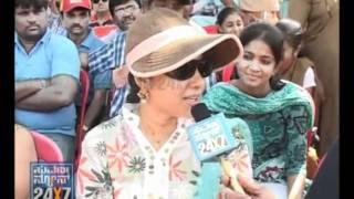 Seg 3 - Raj Cup special - 02 Nov 11 - Sadhu Kokila & Nagashekhar as reporters